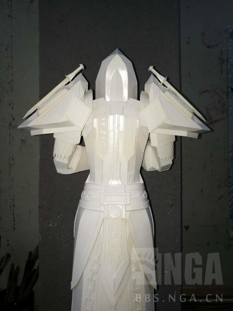魔兽玩家原创作品分享:手工制作的圣骑士t2套装