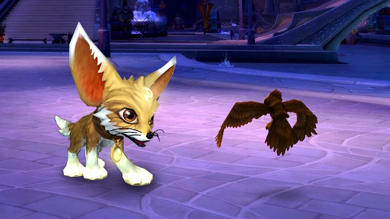 魔兽世界新游戏商城小宠物上架:淘气的狐狸小