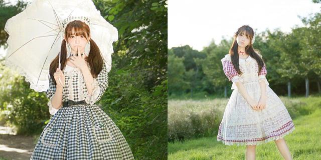 韩国第一美女Yurisa花丛嬉戏可爱迷人