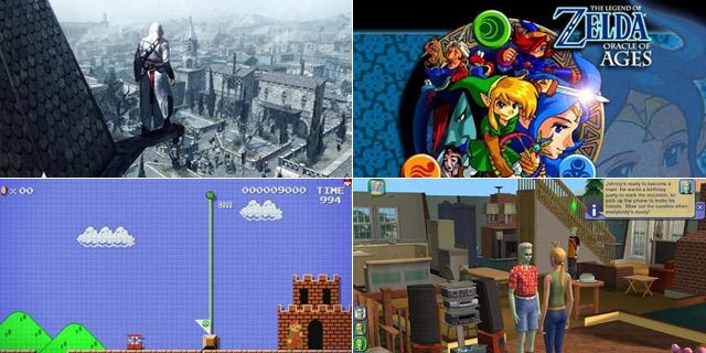 那些年玩过的游戏是否依旧喜欢?