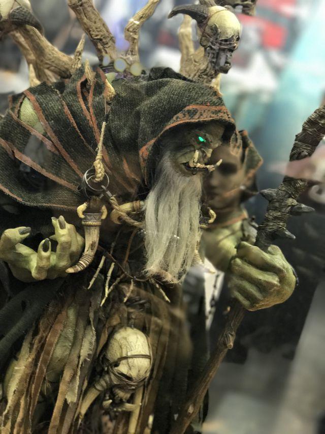 2017年上海漫控博览会现场 魔兽电影人物模型展出