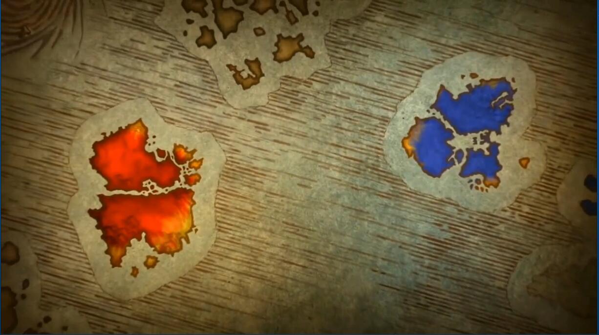 魔兽8.0版艾泽拉斯之战 怀旧服库尔提拉斯赞达拉