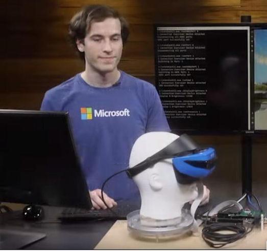 微软推出适用于微软HoloLens的HMD测试套件