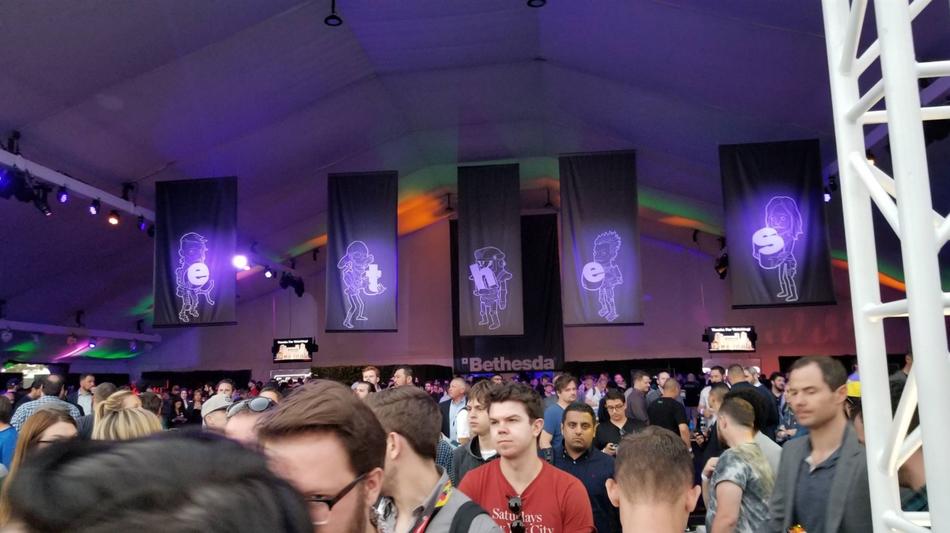 2018 E3 B社发布会现场图
