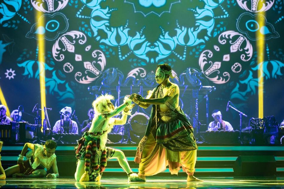 亚运会电竞表演赛开幕式精彩表演