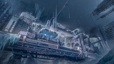 美国游戏概念画家科幻作品欣赏 想象力天马行空