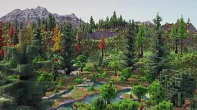 玩家花一年时间打造《我的世界》地形 更真实自然