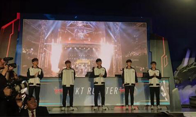 英雄联盟全球总决赛揭幕战 KT轻松拿下TL