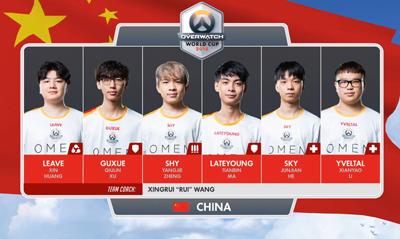 守望先锋世界杯决赛战报:中国队获得亚军!