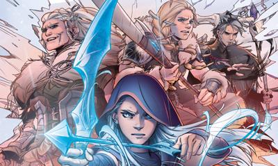 英雄联盟x漫威合作漫画《艾希:战母》第1话上线