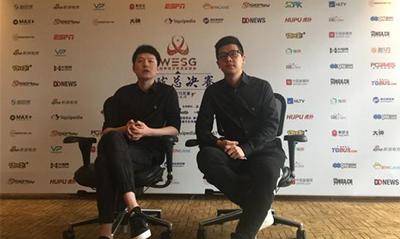 采访WESG解说SDN&AA:比赛版权分散很困扰