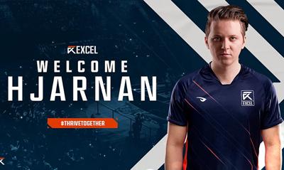 EXCEL官宣:原G2下路Hjarnan正式加入队伍