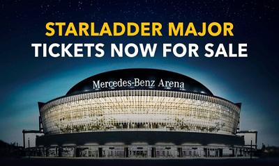 StarLadder调整柏林Major日程 门票正式开售