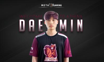 前上海龙之队选手加入韩国OC队伍Meta Athena