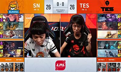 Angel单带流AD卡牌再登场,SN2-0终结TES四连胜!
