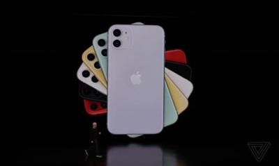 iPhone 11系列正式发布!国行售价5499元起
