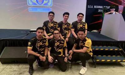在新加坡的比赛中,我和选手聊了聊文莱电竞行业
