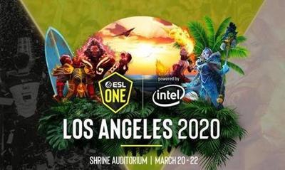 ESL洛杉矶将于3月28日线上开赛;不再有DPC积分奖励