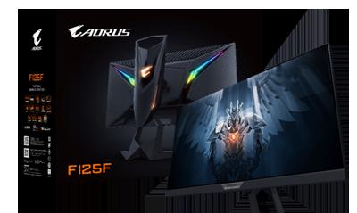 技嘉SuperSpeed IPS电竞显示器AORUS FI25F隆重登场!