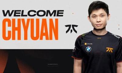 ChYuaN加盟Fnatic 担任队内3号位