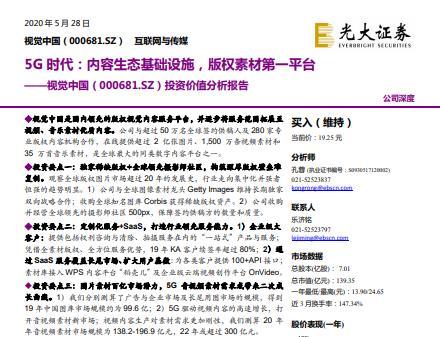 视觉中国投资价值分析报告:在线提供超过2亿张图片(可下载)