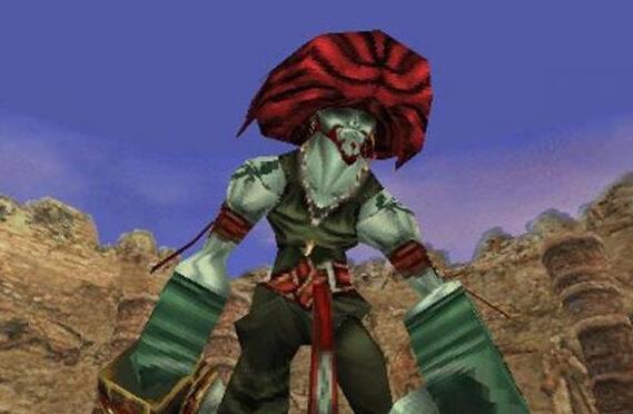 撒拉曼达――最终幻想9