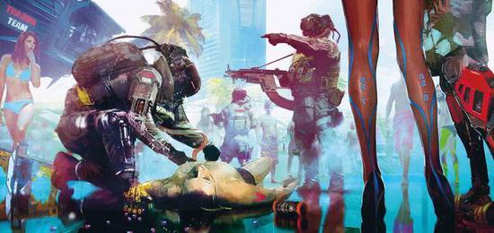 《赛博朋克2077》E3 2018闭门演示细节汇总: