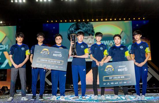 Apex第四赛季总冠军GC Busan