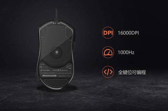 《【煜星网上平台】你的第七件神装——达尔优A960轻量化游戏鼠标》