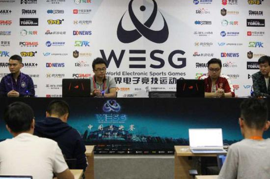 WESG中决赛PES媒体会 通过电竞让人爱上运动