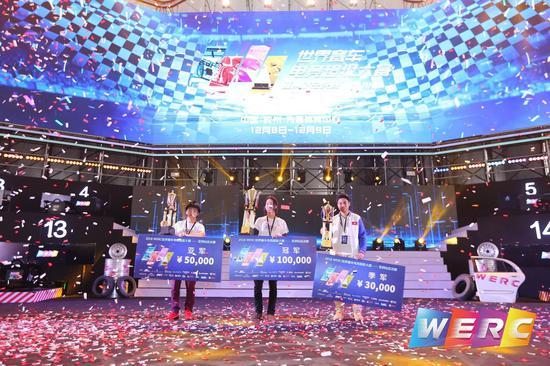 WERC获胜选手合影