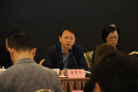 中国音像与数字出版协会副秘书长、游戏出版工作委员会秘书长唐贾军