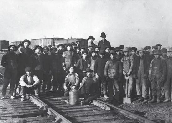 Chinese work group for the Great Northern Railway