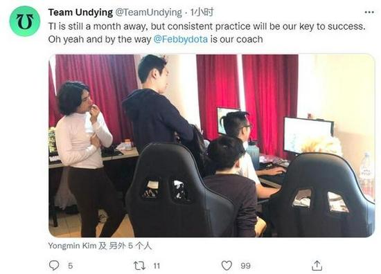 【博狗扑克】Undying官方宣布 Febby将担任战队教练