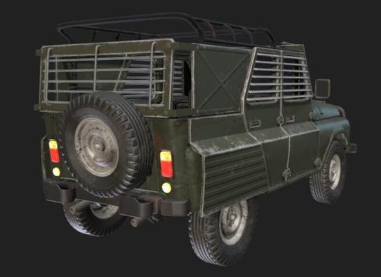 不管从哪个角度看,即将更新的这辆装甲车都是一台移动的战争堡垒!