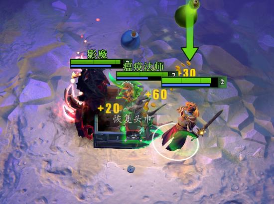 玩家在清理完每个房间所有的怪物之后会掉落大宝箱,需要三位玩家合力才可打开