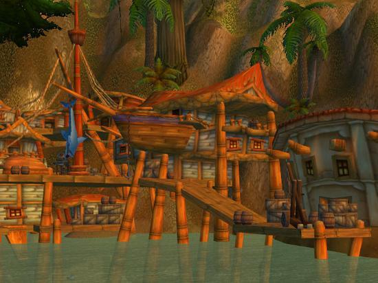 藏宝海湾的水手之家
