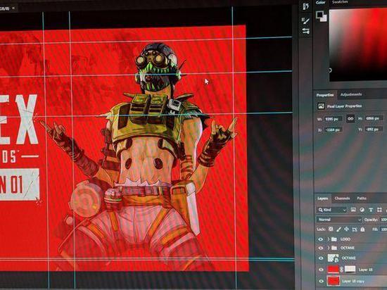 《Apex英雄》新英雄Octane角色设计海报泄露