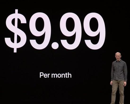 Apple News+的订阅费用为9.99美刀/月