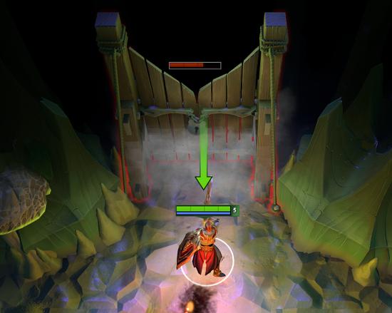 某些房间与其他房间之间会有障碍物,玩家需注意阵容搭配