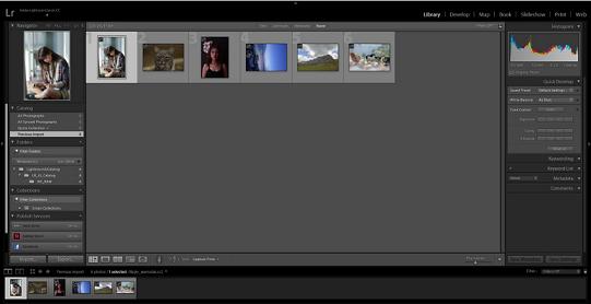 Lightroom可以快速大批量的对图片进行调色,增强细节等处理