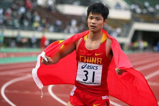 全中国跑最快的男人:玩电脑会头晕 闲暇时间打手..