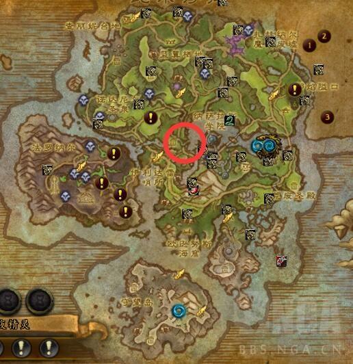 魔兽7.0成就激战破碎群岛:npc位置及宠物技能