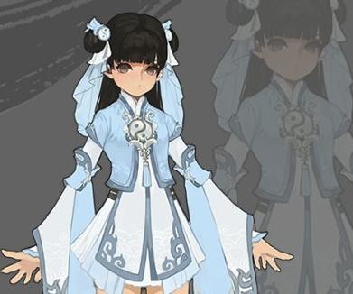公主手绘校服图片