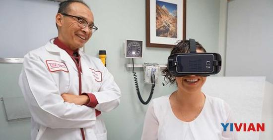 不只是游戏 美国南加州大学将用VR治疗癌症