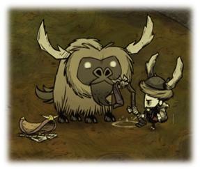 饥荒:游玩版驯牛全攻略皮弗娄牛的正确联机姿西北驯养攻略图片