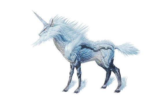 麒麟,被誉为幻之灵兽的神秘生物。