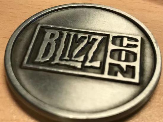 暴雪员工福利:暗黑20周年员工专属纪念硬币
