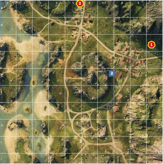 《坦克世界》地图火炮点位分享