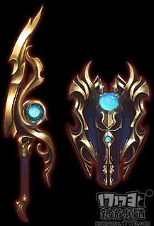 主武器:单手刀 副武器:盾牌